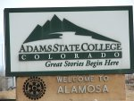 Adams-State-College-sign