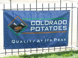 Potato-Festival-Sign