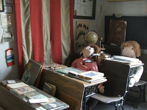 School-room-at-Saguache-County-Museum
