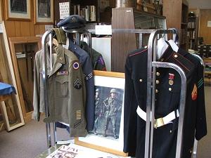 Veterans-History-Center-Museum-Uniforms