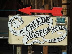 Creede-Museum-Sign