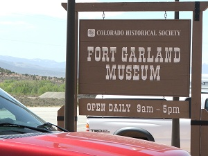 Fort-Garland-Museum-Sign