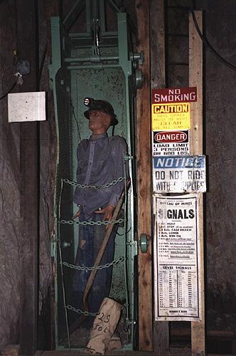 Mining-hoist
