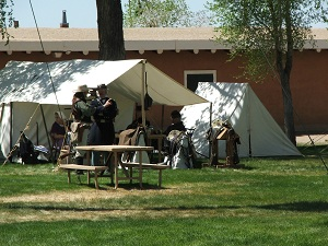 Fort-Garland-tents